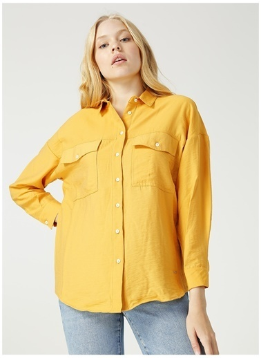 Loft Gömlek Sarı